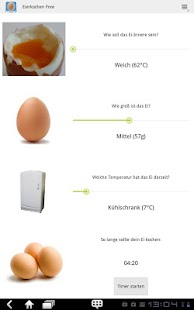 Eier perfekt kochen free android apps auf google play - Richtig eier kochen ...