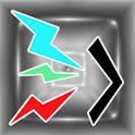 LED Text Flicker logo
