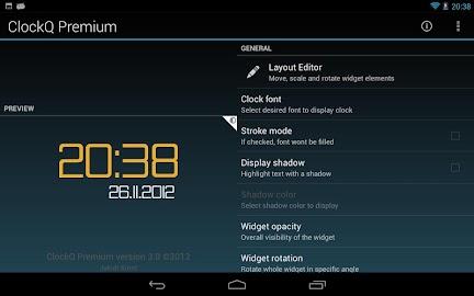 ClockQ - Digital Clock Widget Screenshot 6