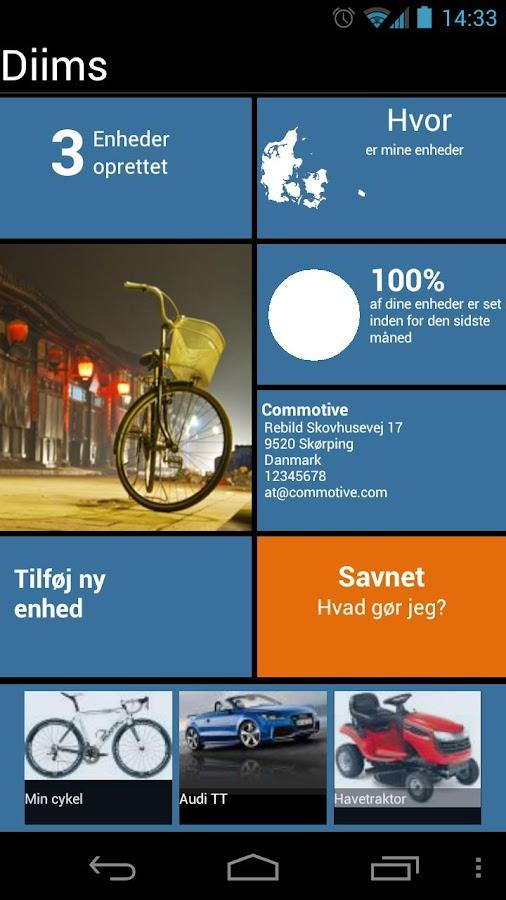 Diims- screenshot