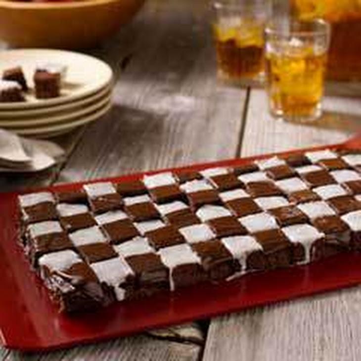 Checkered Flag Fudgy Bites