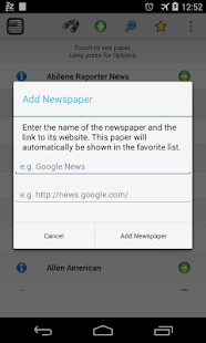 All Newspapers of Texas - Free - screenshot thumbnail