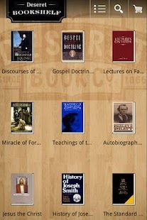Deseret Bookshelf LDS e-reader - screenshot thumbnail