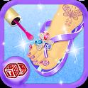 Toe Nail Art – Girls Game icon