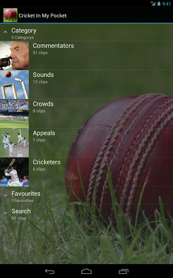 Cricket In My Pocket - screenshot