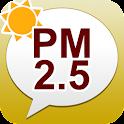 PM2.5・黄砂アラート: お天気ナビゲータ logo