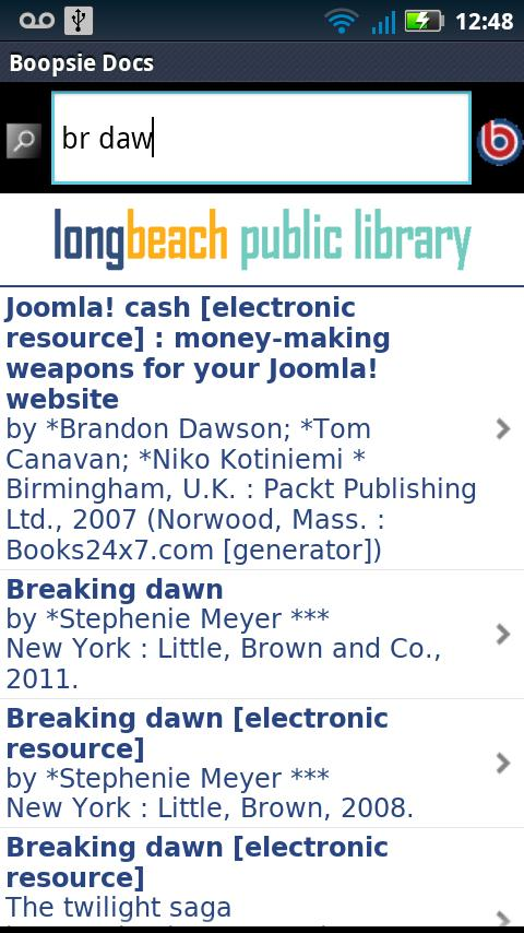LBPL Mobile- screenshot