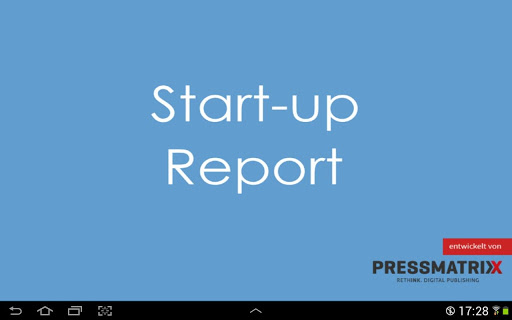 Start-up Report