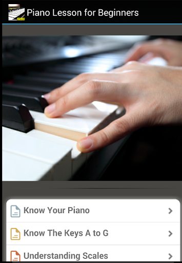 Easy Playing Piano