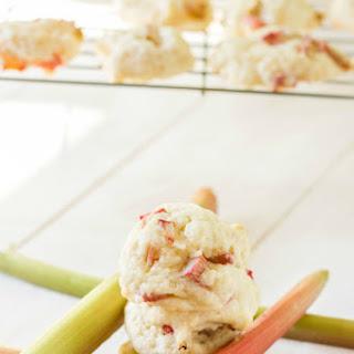 Rhubarb Biscuits
