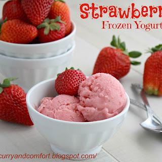 Strawberry Frozen Yogurt