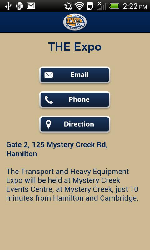 Visitor App for THE Expo - screenshot