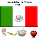 Italian in Pictures : Food logo