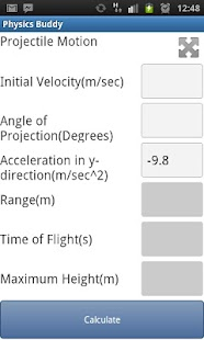 Physics Buddy- screenshot thumbnail