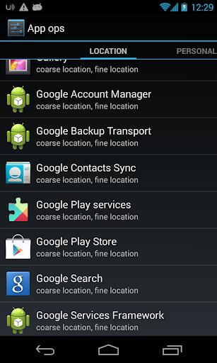 App Ops Launcher