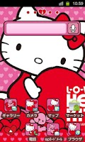 Screenshot of HELLO KITTY Theme9