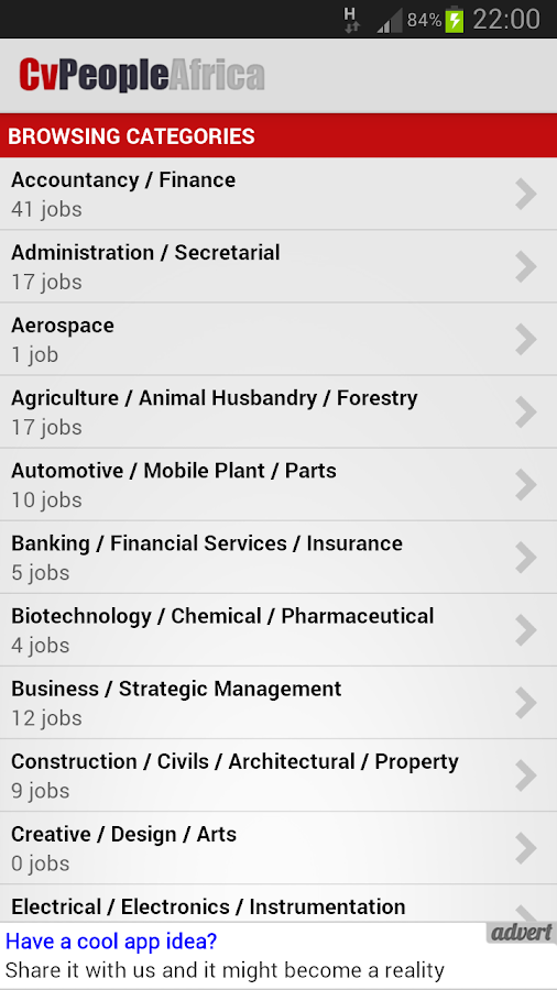 Cv People Jobs- screenshot