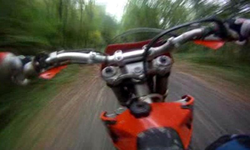 Motocross Forest LWP - screenshot