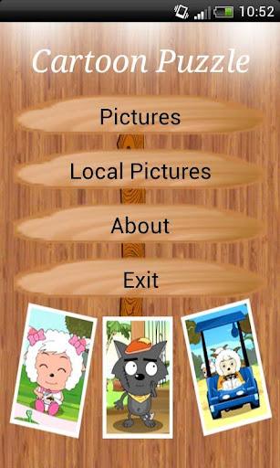 Cartoon Puzzle Game