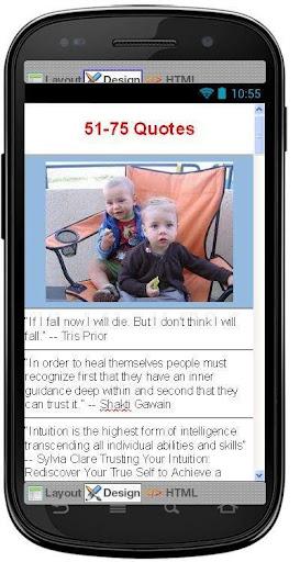 【免費社交App】Best Intuition Quotes-APP點子