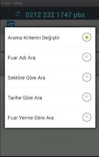 Fuar Takip - Fuar Arama Motoru- screenshot thumbnail