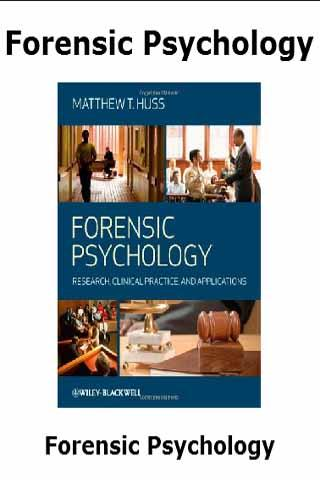 forensic psychology masters thesis