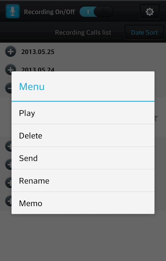 Smart Auto Call Recorder- screenshot