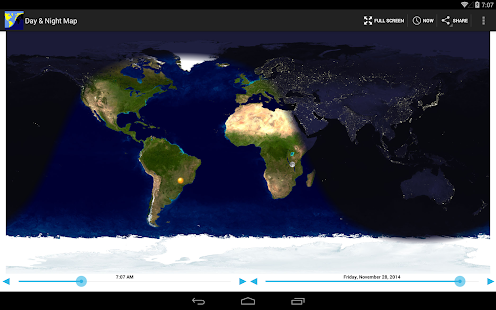 Day night map android apps on google play day night map screenshot thumbnail gumiabroncs Choice Image