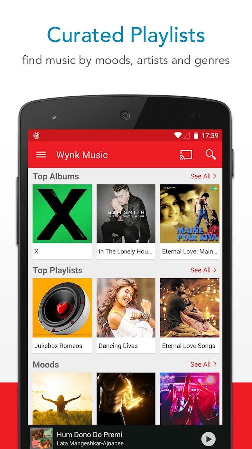 Wynk Music: MP3 & Hindi songs- screenshot