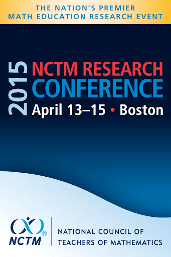 2015 NCTM Research Conference