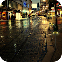 Rain Night Live Wallpaer icon
