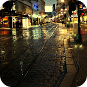 Rain Night Live Wallpaer