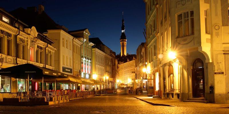 Old town Tallinn in Estonia.