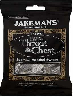 Jakemans Menthol Throat & Chest Sweets