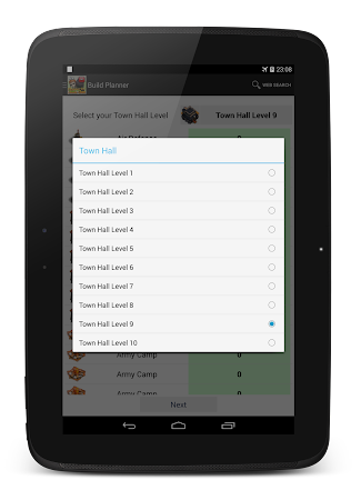 Planner for Clash of Clans 1.0.8 screenshot 97650