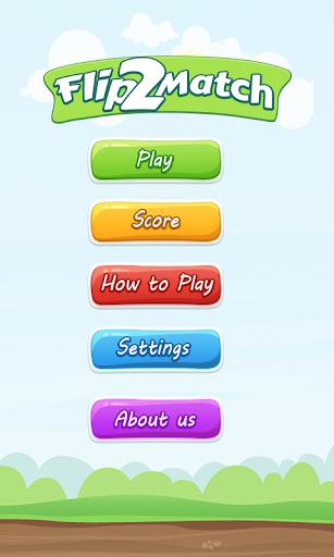 Memory Match:Flip 2 Match game