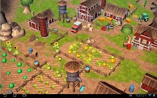 Screenshot of Cartoon Farm 3D Live Wallpaper