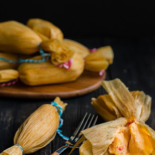 Easy Venezuelan Pepper Tamales