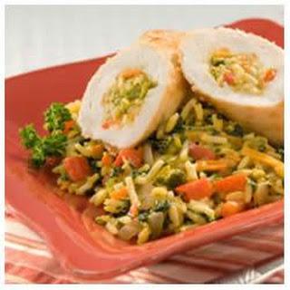 Chicken Vegetable Rollatini
