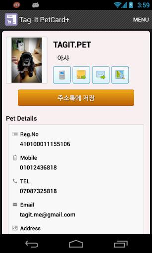 Tag-It PetCard+