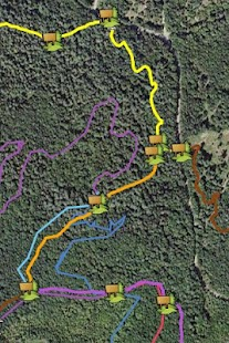 Burke Vermont Bike Trail Map - screenshot thumbnail
