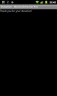 Motion Detector Pro Donation- screenshot thumbnail
