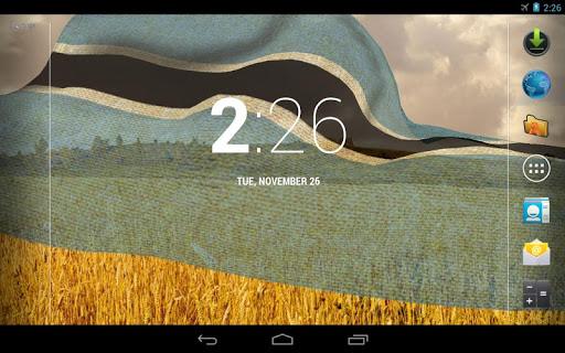 免費個人化App|3D博茨瓦納國旗歌|阿達玩APP