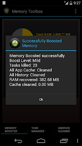Memory Toolbox for Android v1.8