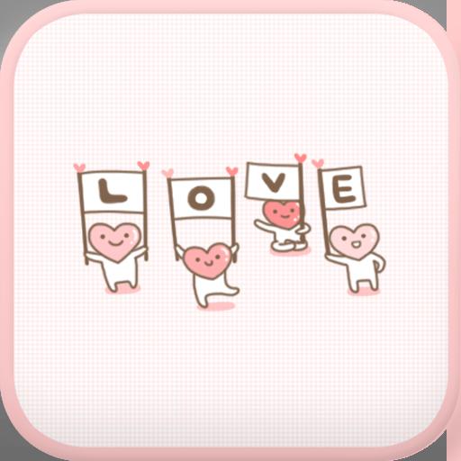 LOVE(Pink) go launcher theme