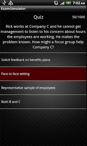 PHR SPHR Sim 1 000 Questions