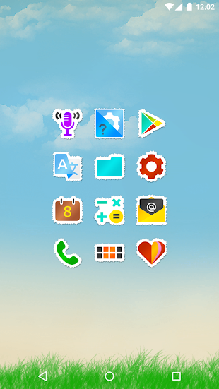 Sticko - Icon Pack- screenshot thumbnail