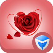 AppLock Theme - Love Roses