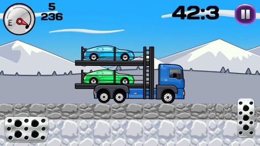 Crazy Car Trailer Truck