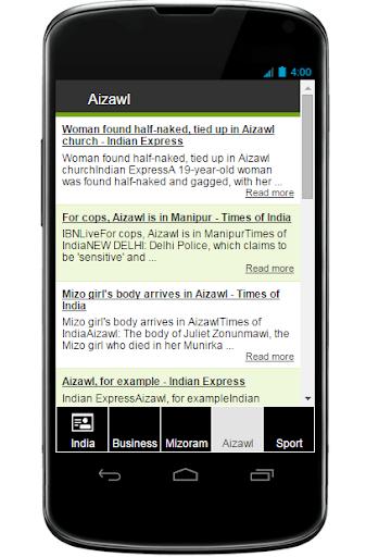 Mizoram News